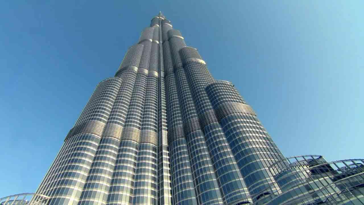 Burj Khalifa up view