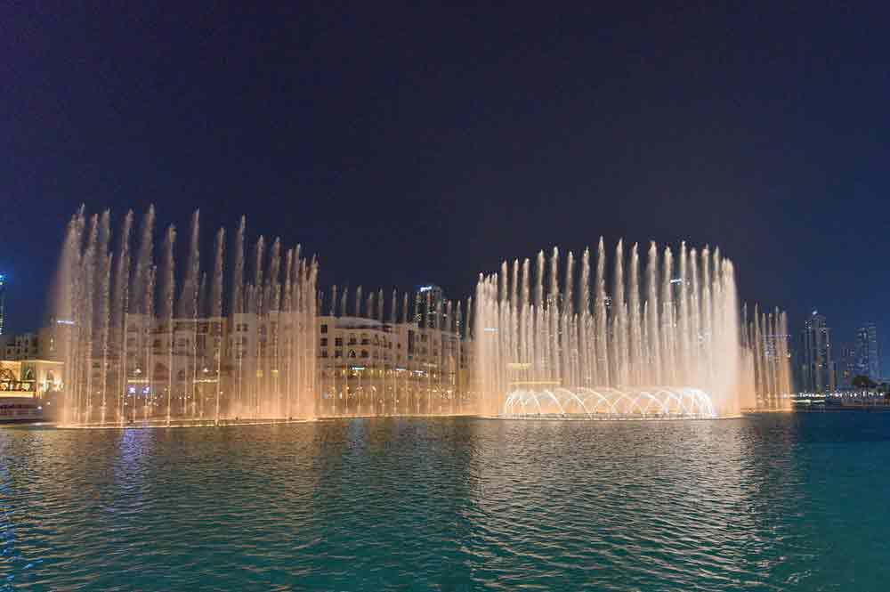 Dubai Fountain Show Image