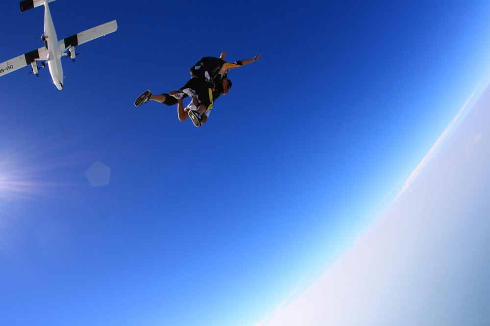 Sky Diving Dubai Image