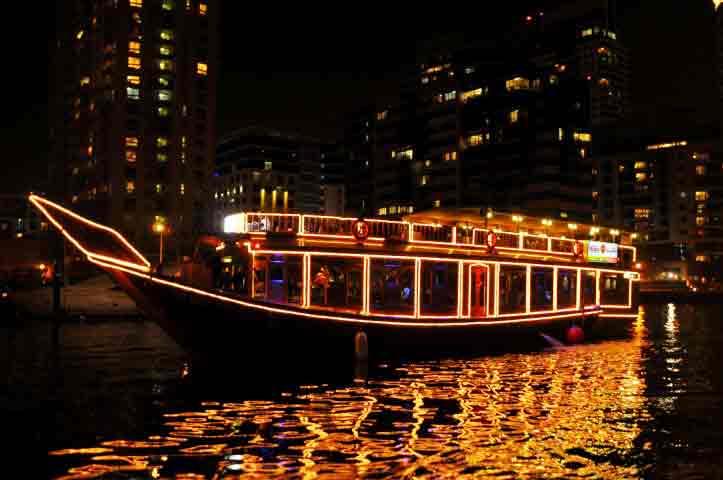 Aisha Floating Restaurant In Dubai