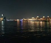 View Of Dubai Creek from Dhow Cruise