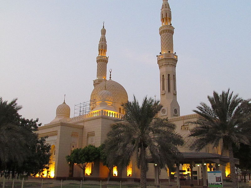 Jumeirah Mosque most Unique Mosque In Dubai