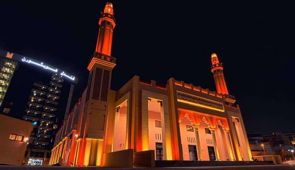 Khalifa Al Tajer Mosque In Dubai