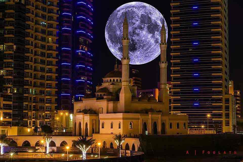 Masjid Al Rahim Famous Mosque in Dubai Marina