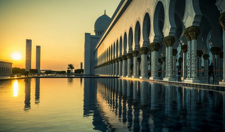 Grand mosque in Abu Dhabi to visit on UAe 48 free hour transit