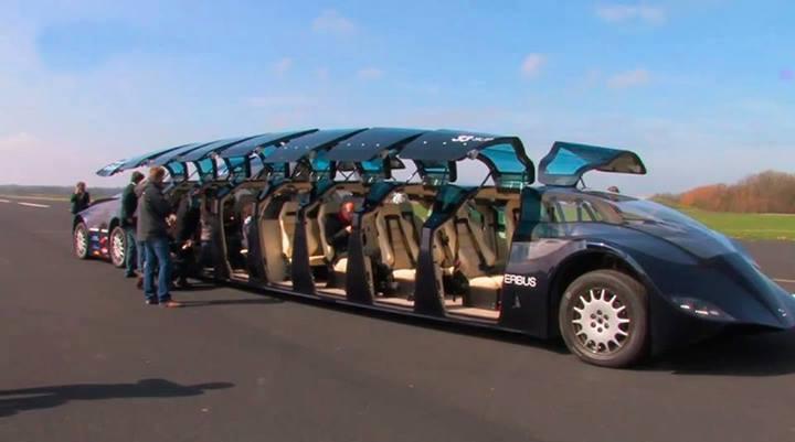 Dubai Bus For Tourist