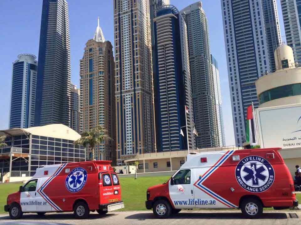 Emergency services in Dubai