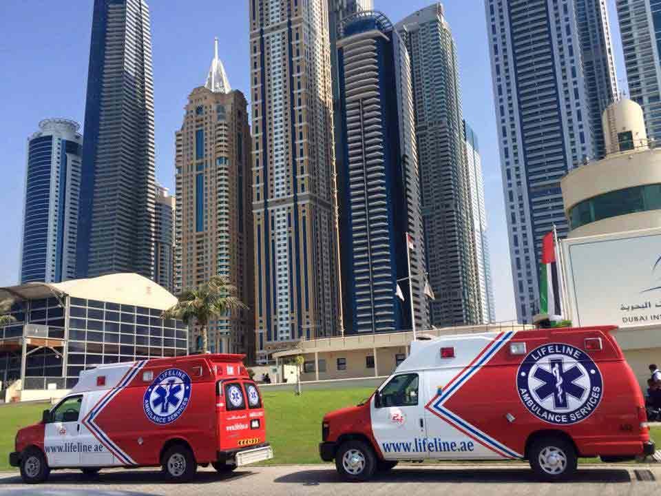 Emergency services in Dubai