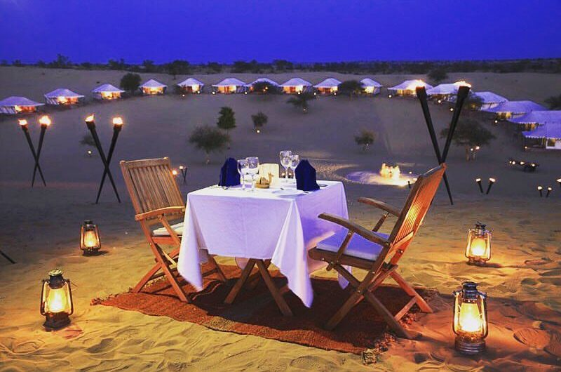 Luxury Desert Date in the Dubai desert safari