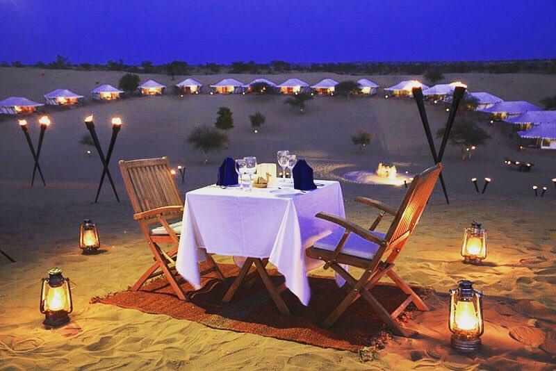 Luxury Desert Date in the Dubai desert safari