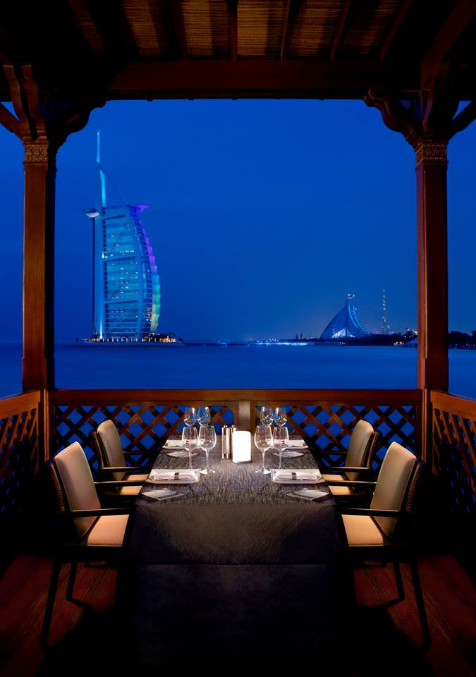 Pierchic the most romantic destination with a sea view in dubai