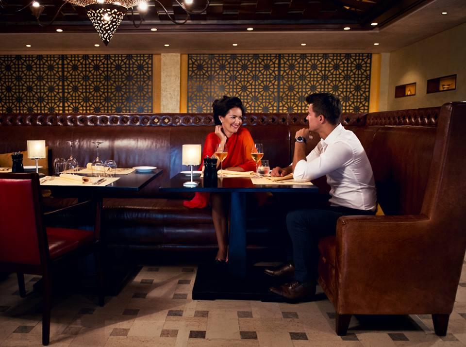 Segreto the most romantic italian restaurant with a candle light dinner in Dubai