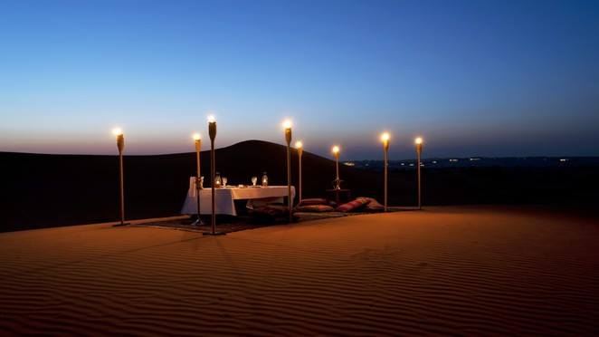 Propose on Overnight Desert Safari