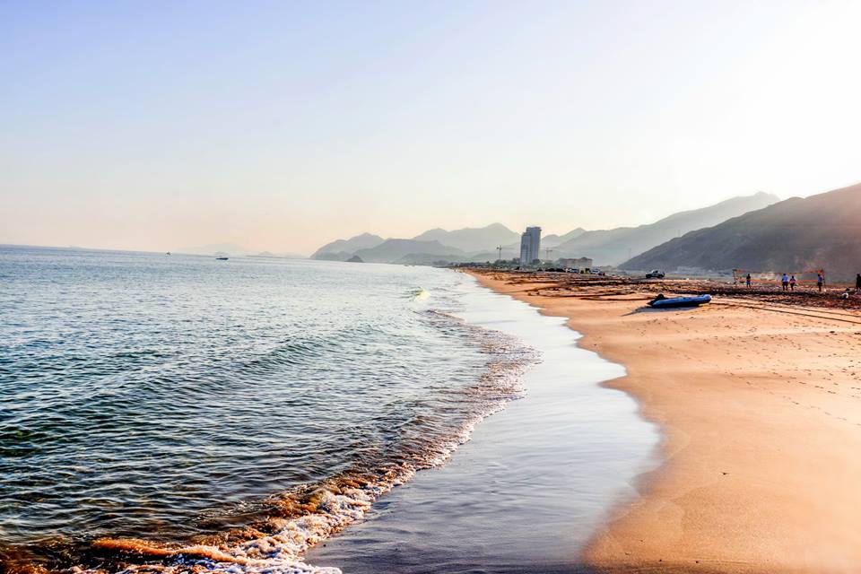 Beaches in Fujairah