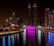 Dubai canal cruise dubai