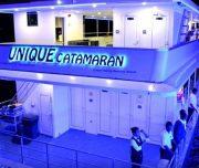 dubai catamaran water canal cruise